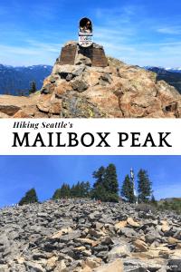 HIking MailBox Peak New trail