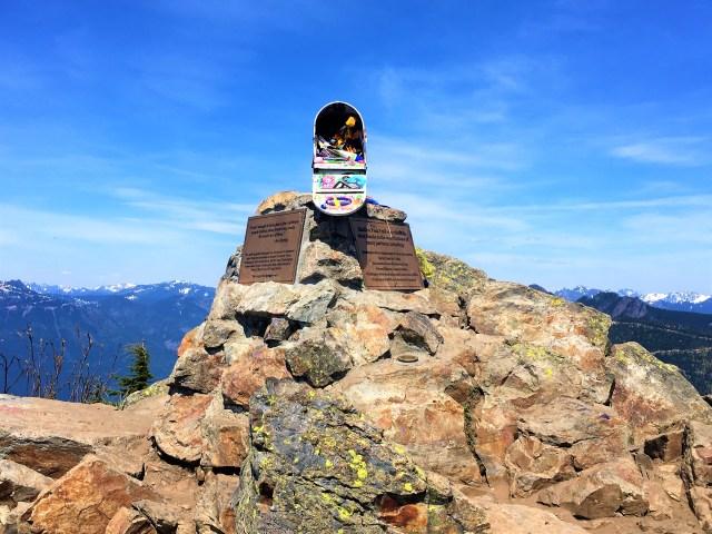 hiking mailbox peak new trail.Mailbox at Mailbox Peak Seattle Northbend