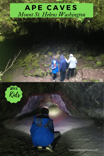 Ape Caves Mount St. Helens Washington with Kids