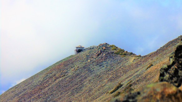 View of Fremont Fire Lookout tower