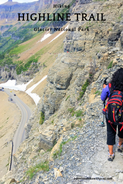 Hiking the Highline Trail Logan Pass Glacier National Park