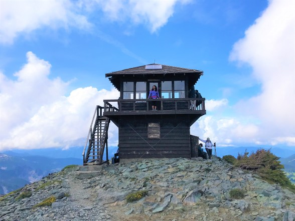 Hike to Fremont Fire Lookout Tower Mount Rainier National Park