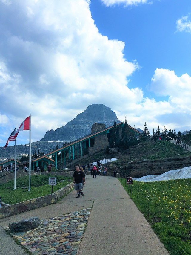 Logan Pass Visitor Center Things to do at Glacier National Park