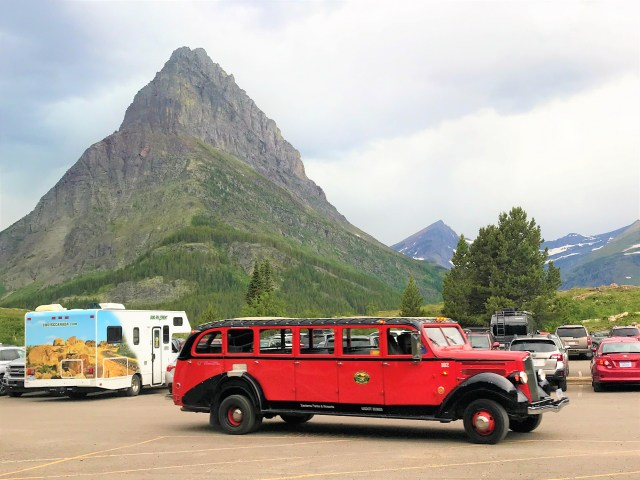 Red Bus Tours Things to do at Many Glacier. Glacier National Park