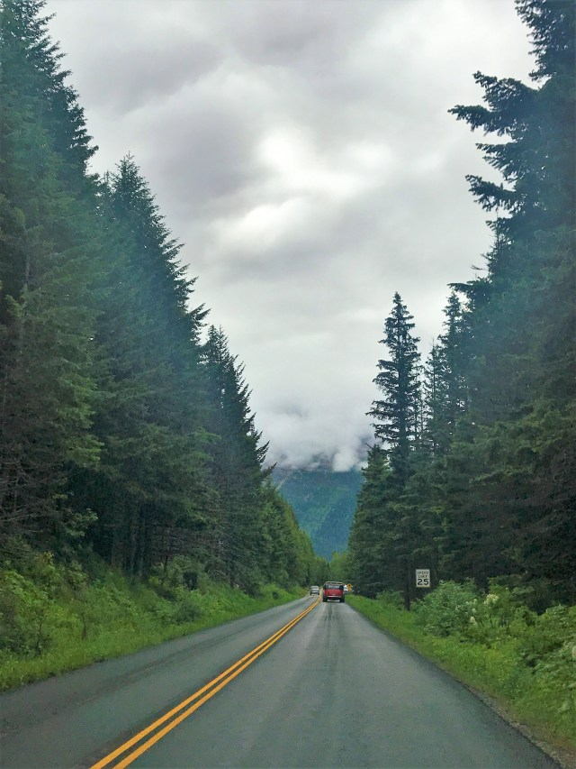 Driving the Going-To-The-Sun Road Glacier National Park