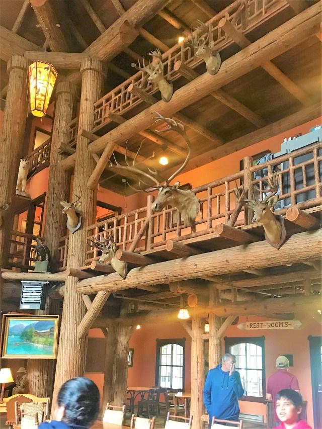 Lobby Area at McDonald Lodge