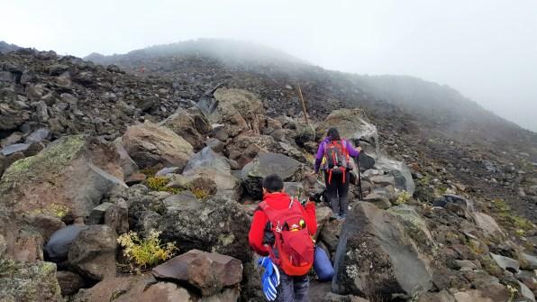 Mount St Helens Summit Boulder Field
