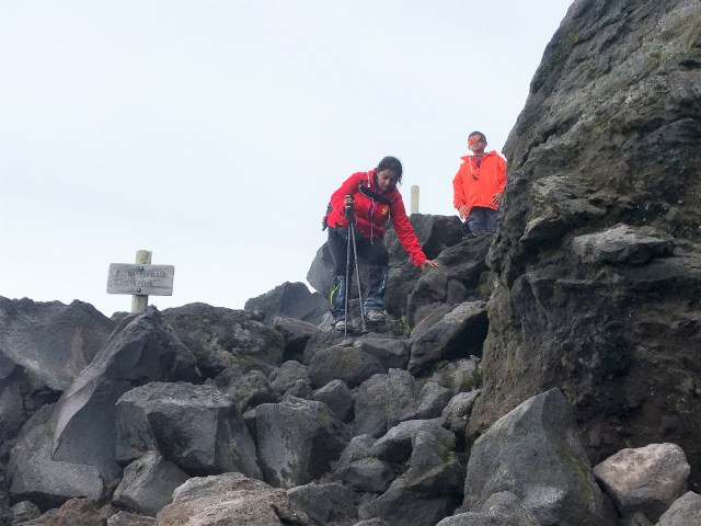 Mount St. Helens Summit Climb