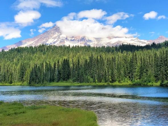 Reflection Lake Mount Rainier National Park WA