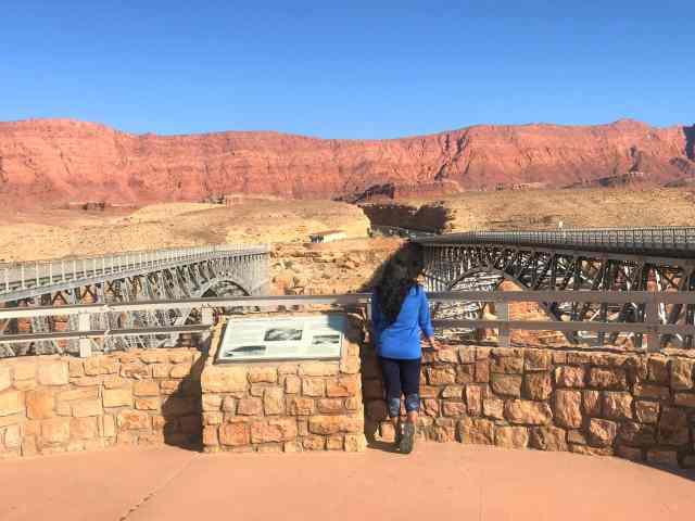 View of Both the Navajo Bridges