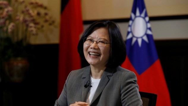 Tsai Ing-wen viaggio taiwan