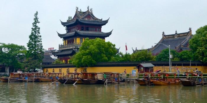 Zhujiajiao: il villaggio sull'acqua