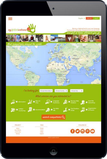 My Global Welcome: Social Network per i viaggiatori