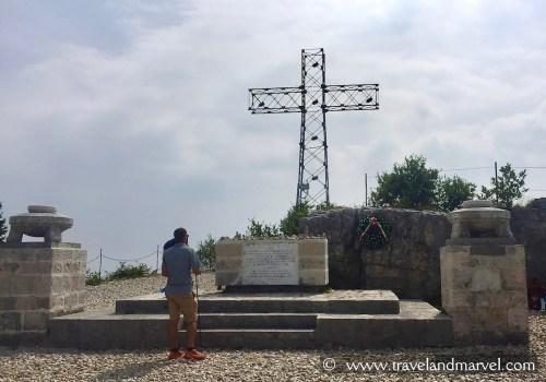 Monte Cengio monumento