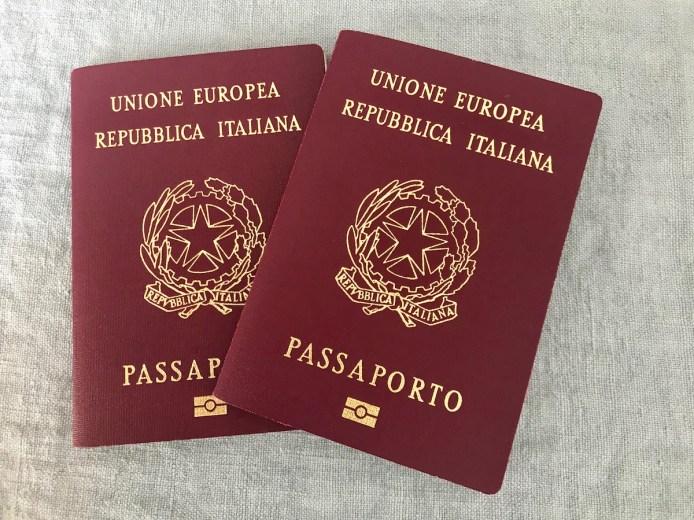 Passaporto italiano visto cina