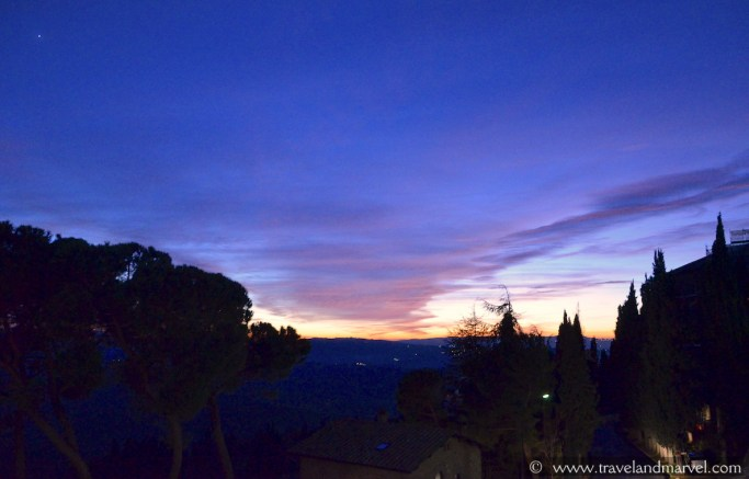 tramonto Pienza