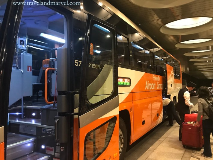Tokyo autobus - viaggio in Giappone
