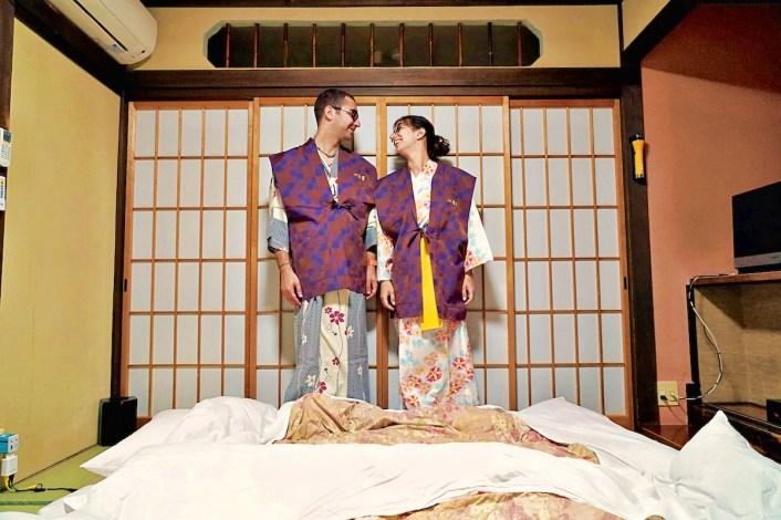 yukata ryokan Takayama
