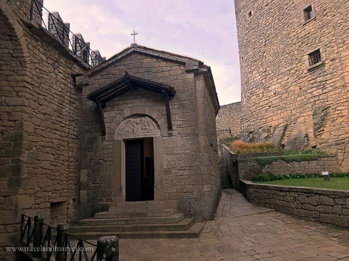 San Marino - Cappella della Prima Torre