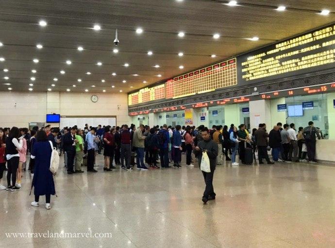 comprare biglietti dei treni in Cina