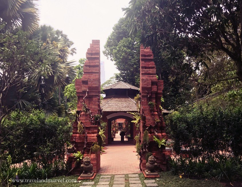 Fort Canning park a Singapore