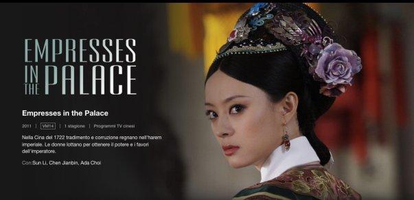 Serie tv cinesi
