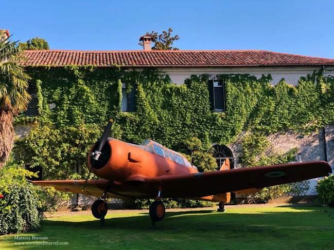 Castello S pelagio museo del volo