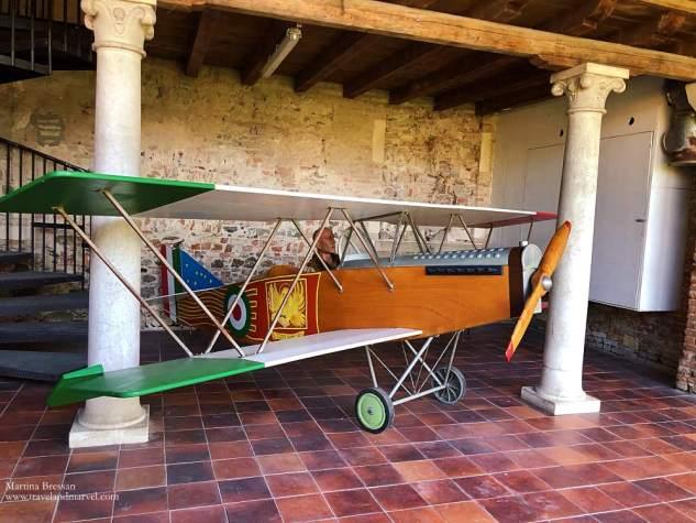 SVA 5 Castello di San Pelagio volo su vienna