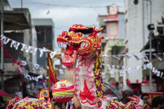 capodanno cinese danza drago