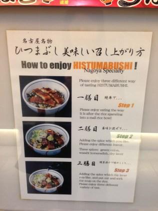 Hitsumabushi instructions