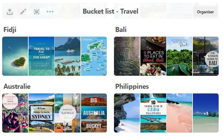pinterst-bucket list-voyage