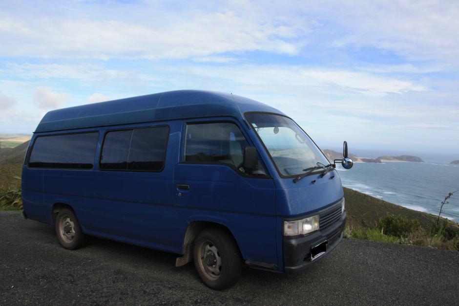 campervan-NZ-cape reinga