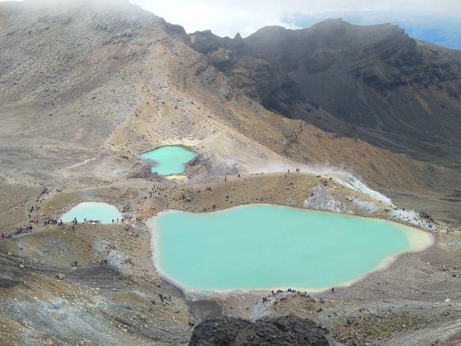 lacs emeraude Tongariro NZ