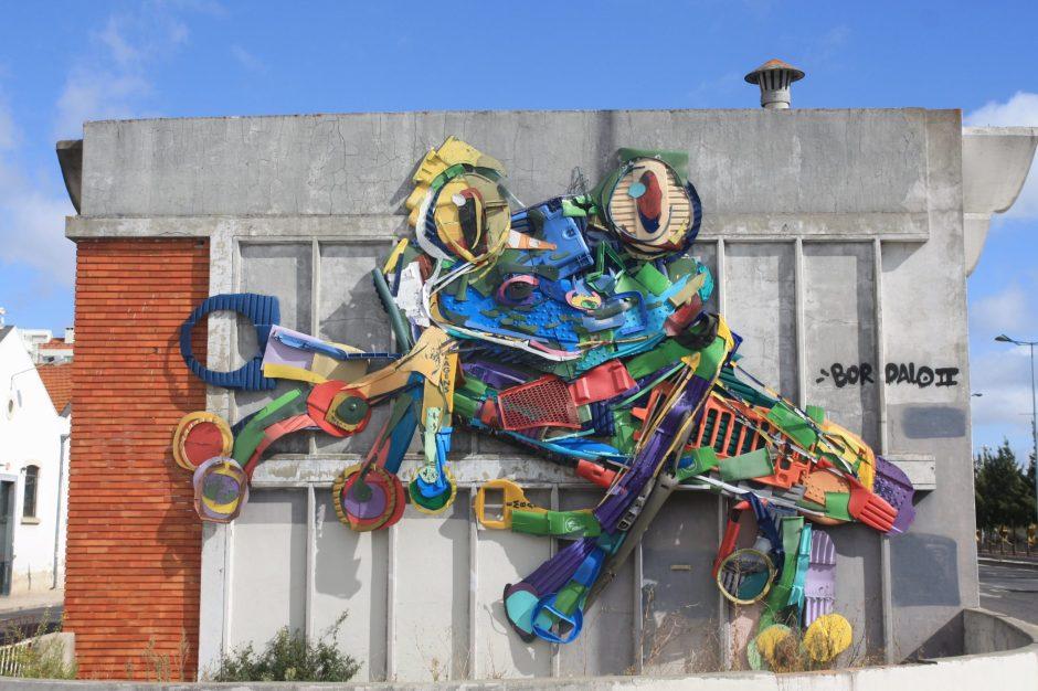 Lisbonne_bordalo II street art