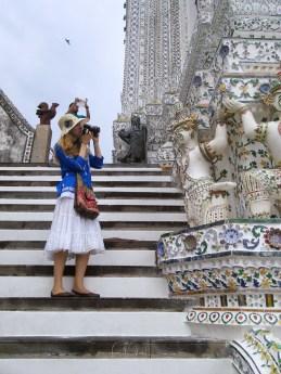 Beth at Wat Phra Kaew, Grand Palace