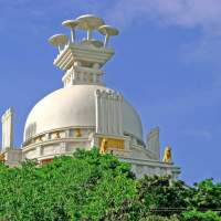 Shanti Stupa - Dhauli | Odisha | Travel And Trekking