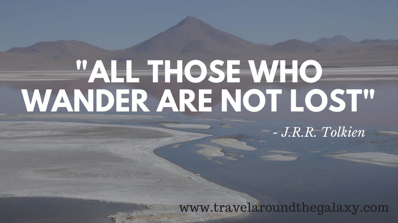 _all those who wander..._