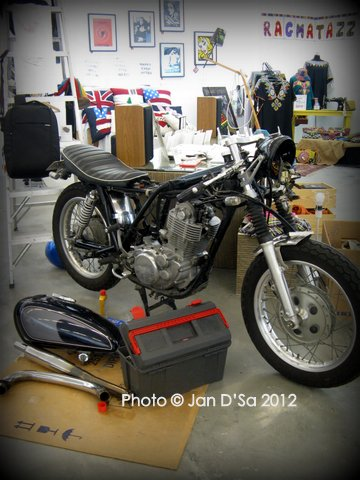 A motor bike for sale!