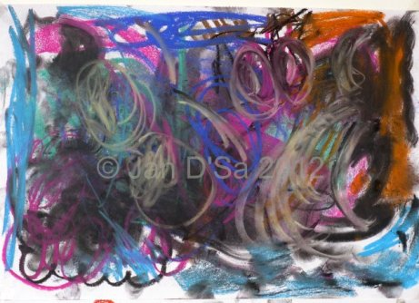 The first in the series. The murky one. Dated 10th Feb. 2012. ©