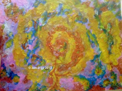 Venus' first Blush. © Jan D'Sa Art 2012
