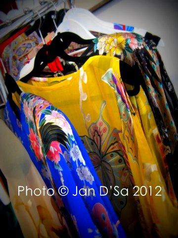 Melanie Gessing's silk fashion - a must have in one's wardrobe