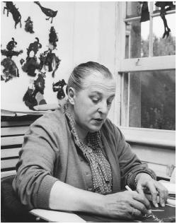 Lotte Reiniger, the silhouette puppetry handcrafter turned movie maker