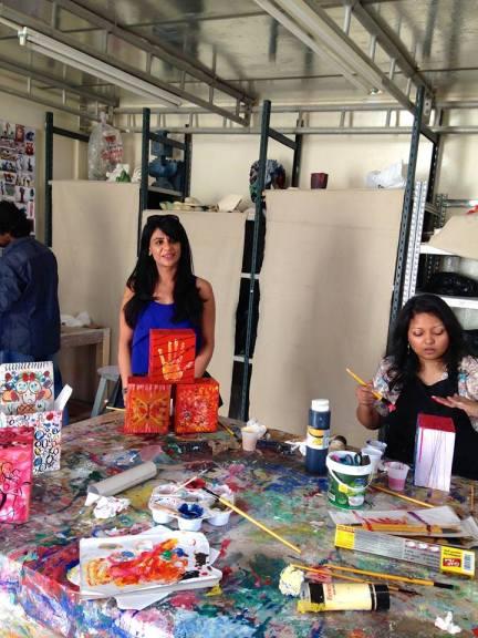 Manisha Gaur's fiery themed boxes