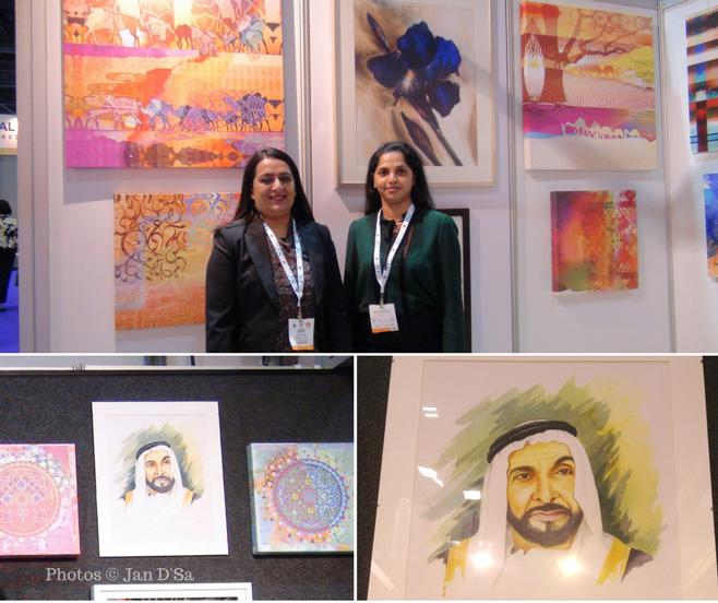 Carol Felix and Simi Salim of Art Souq