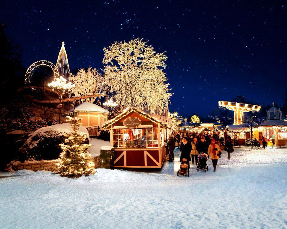Scandinavian Christmas Market in Gothenberg