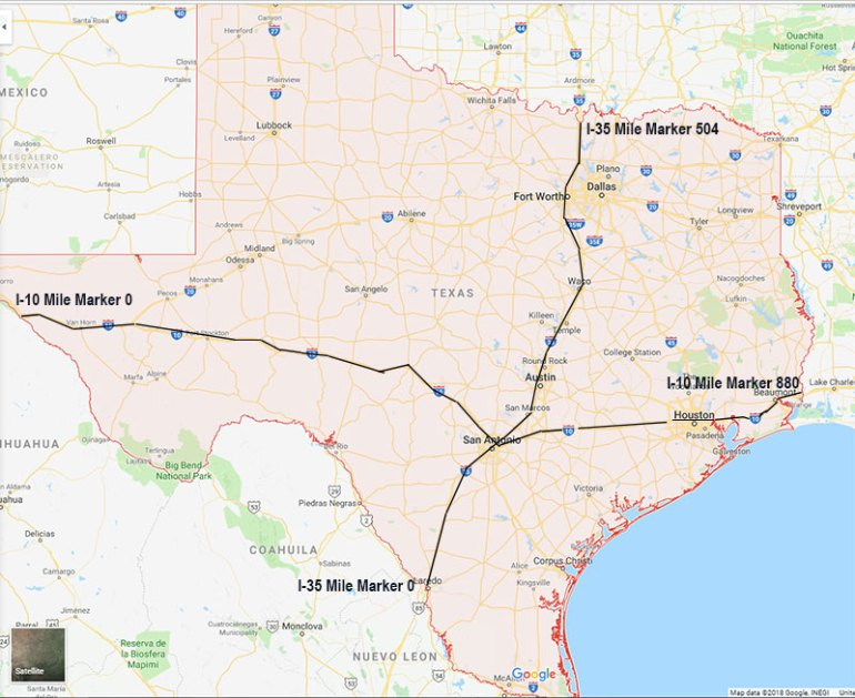 Road Trip Tips — Understanding the Interstate System and ... Interstate Mile Marker Map on interstate 70 in illinois, interstate 35 mile marker map, interstate 44 mile marker map, pennsylvania interstate 81 mile marker map, interstate highway map of texas, interstate 40 mile marker, interstate maps with mile markers,
