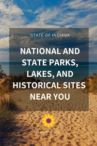 Indiana National and State Parks, Lakes, and Historical