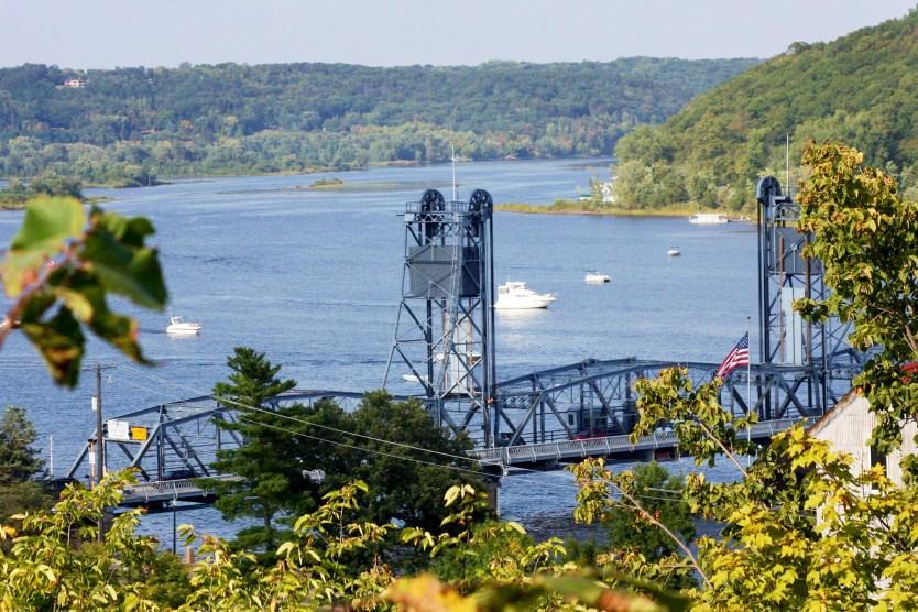 Stillwater Lift Bridge in Glinda's hometown - Stillwater, MN