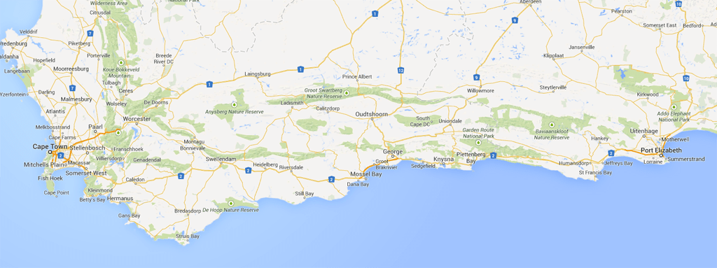 Driving the must see southern south africa coastline - Drive from port elizabeth to cape town ...