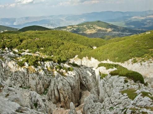 Czarnogórskie zapasy śniegu